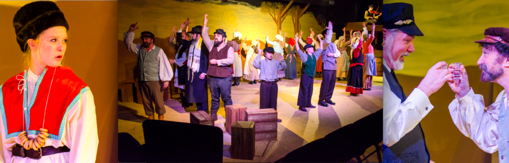 """Fiddler On The Roof"" photo credit & copyright - Mystic Productions"""